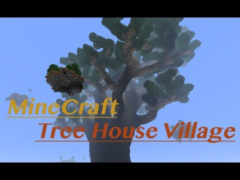 MineCraft Tree House Village