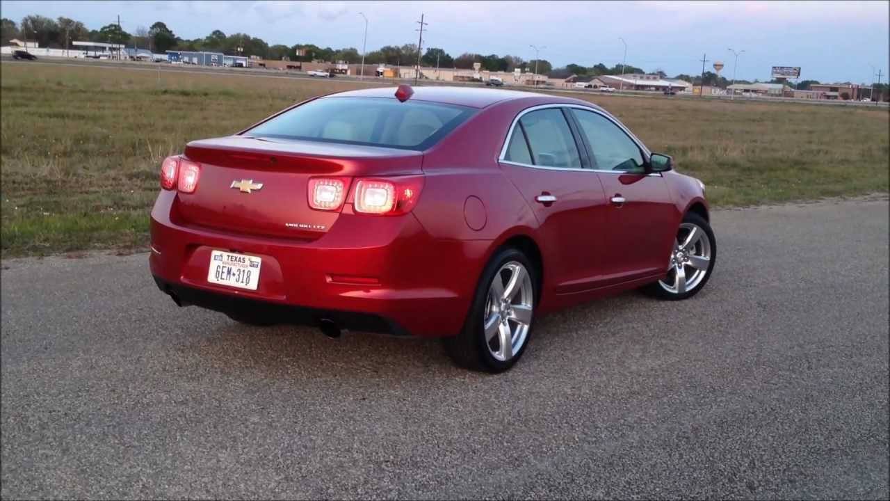 in wheel time looks at the 2013 chevrolet malibu ltz youtube. Black Bedroom Furniture Sets. Home Design Ideas