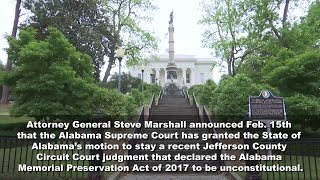 Alabama Memorial Preservation Act of 2017