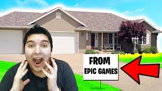 Epic Games Bought Me a HOUSE.. - Fortnite