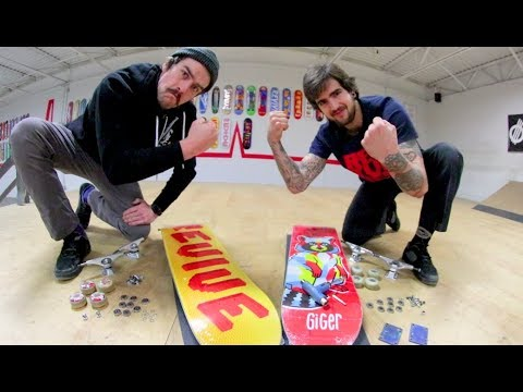 Skateboard Assembly Race! / Ryan Bracken VS Thomas Alvarez