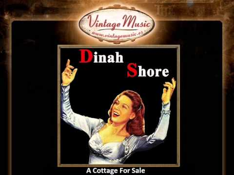 6Dinah Shore    A Cottage For Sale VintageMusic es