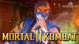 "The Most Powerful Attack In MK11... - Mortal Kombat 11: ""Sub-Zero"" Gameplay"