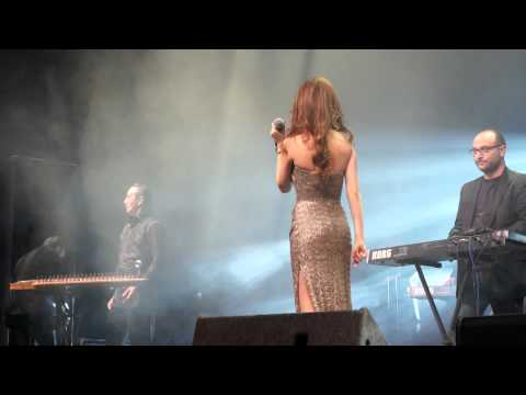 Nancy Ajram Live in concert Stockholm 30 Mars 2013