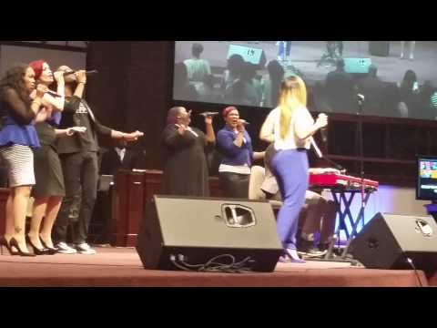 Yesterday- Anthony Brown w/Erica Campbell 6/7/14