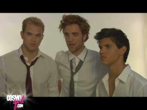Behind the Scenes with the Guys from Twilight. CosmoGIRL Video: http://www.cosmogirl.com/funandgames/video/?src=syn&amp;mag=cog&amp;dom=youtube&amp;chan=home&amp;link=rel_21...
