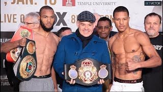 JULIAN WILLIAMS VS JEISON ROSARIO - FULL WEIGH IN AND FACE OFF VIDEO I PBC ON FOX
