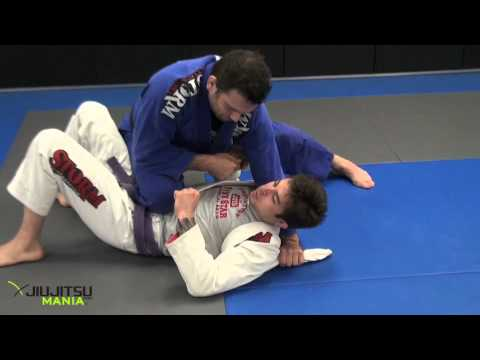 JiuJitsuMania Shawn Williams Attacks from Knee on Stomach I