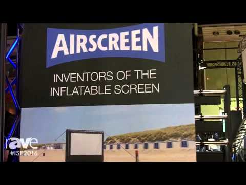 ISE 2016: Airscreen Details Inflatable Projection Screen
