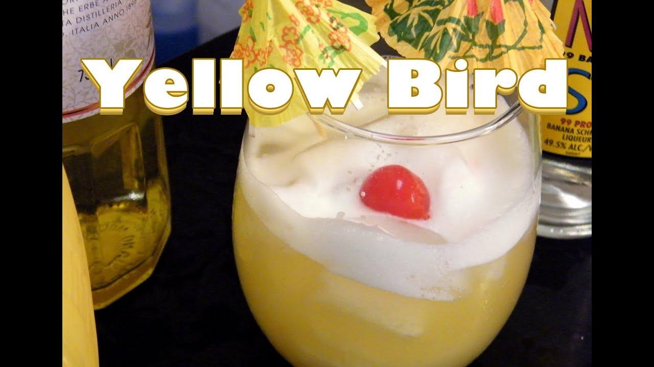 Yellow bird drink recipe youtube for Cocktail yellow bird