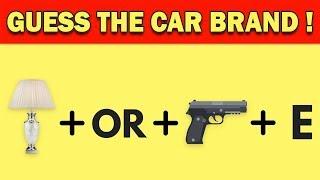 Can You Guess The Car Brand By Emoji? | Emoji Challenge | Emoji Game | Train Your Brain