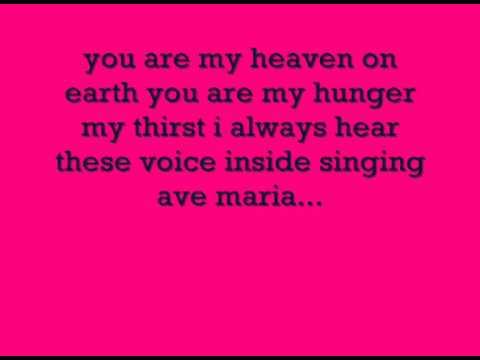 песня аве мария слова: