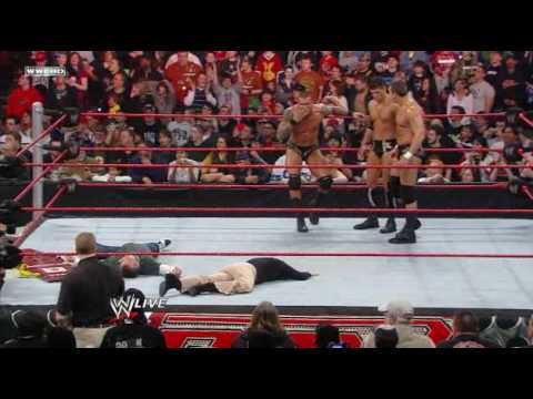On Monday Night Raw, Randy Orton and his goons laid some hurt on the McMahon siblings. This can only mean one thing: Triple H is gonna be MAD. For more, please visit ...