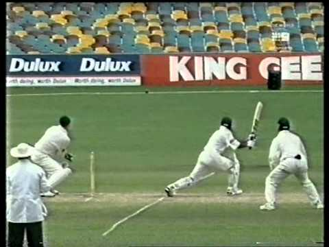 Saeed Anwar 119 Vs Australia 1999 Gabba video