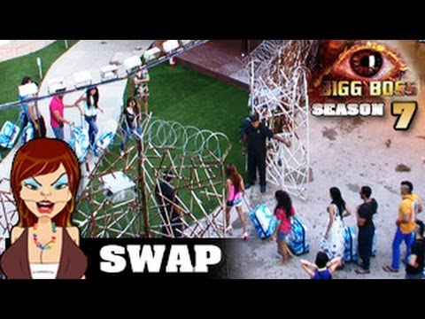 Bigg Boss 7 3rd October 2013 episode - Heaven & Hell SWAP