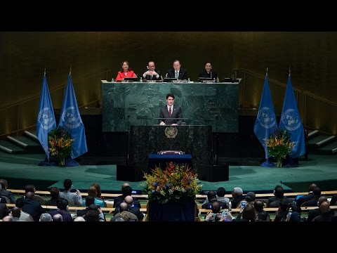 Trudeau thrilled Canada's back on UN Human Rights Committee (with Cuba & Saudi Arabia)