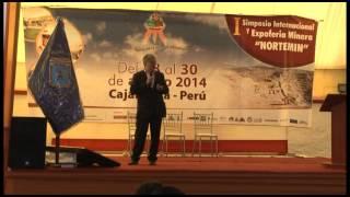 Ing.  Belisario Perez, Gerente de Seguridad y Salud Ocupacional MINSUR en NORTEMIN 2014
