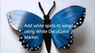 How to make a Garden Butterfly Sign
