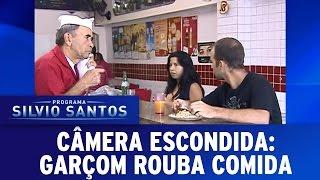 Câmeras Escondidas (06/03/16) - Garçom Rouba Comida