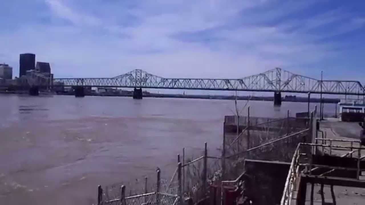 New Louisville Bridge New Bridge Construction at
