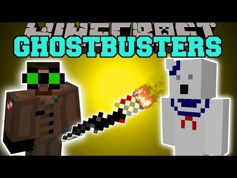 Minecraft: GHOSTBUSTERS (WHO YOU GONNA CALL?!) Mod Showcase