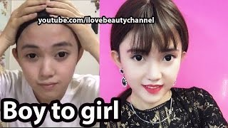Supin Makeup Tutorial Party Night Boy To Girl