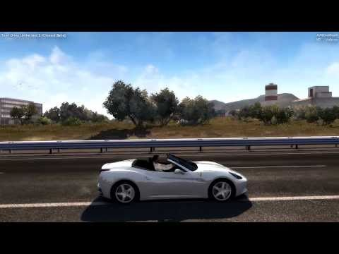 Test Drive Unlimited 2   Closed Beta   Ferrari California Gameplay and TOP speed [HD 720]