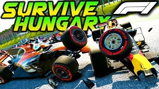 SURVIVE HUNGARY - Extreme Damage Mod F1 Game Keyboard Challenge