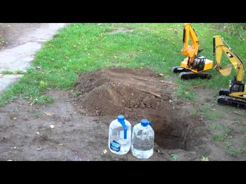 1/12 Earth Digger 4200XL Hydraulic Excavator Track Test
