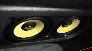 Audio System H 165.4 Kickbass Test an Mosconi AS 200.2