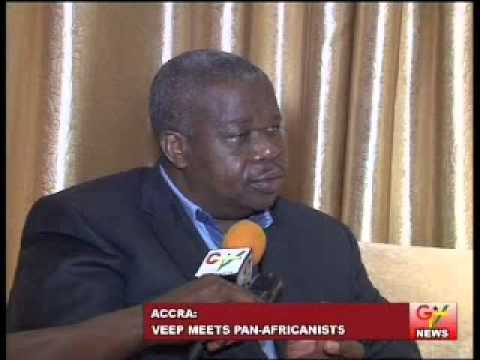 Vice President Meets Pan-Africanists