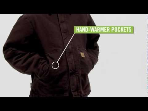 Video: Men's Sandstone Traditional Jacket - Arctic Quilt Lined