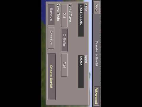 Как создать свой сервер в майнкрафт pe 0100
