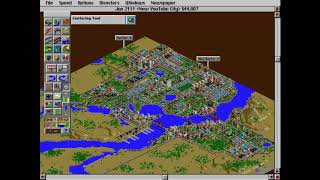 Classic Games 2: SimCity 2000 (New YouTube City Pt.5) A Pyramid To My Glory