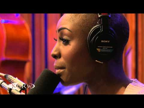 "Laura Mvula performing ""Sing To The Moon"" Live on KCRW"