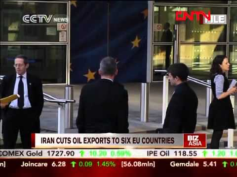 Iran cuts oil exports to six EU countries
