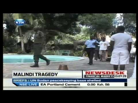 A young man Drowns in a swimming pool in Malindi