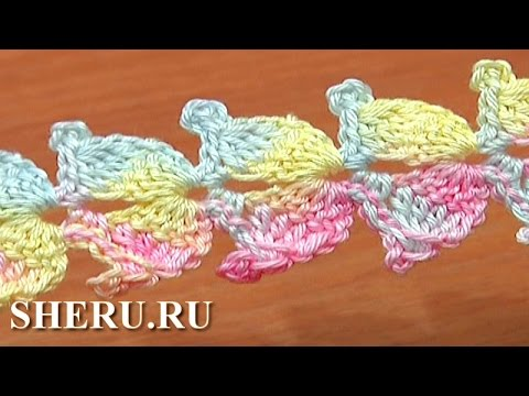 Уроки ажурного вязания крючком - видео