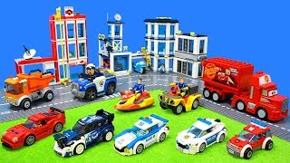Fire Trucks, Police Vehicles & Emergency Cars Unboxing for Kids: Fireman Sam, Paw Patrol & Lego Toys