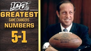100 Greatest Game Changers: Numbers 5-1 | NFL 100