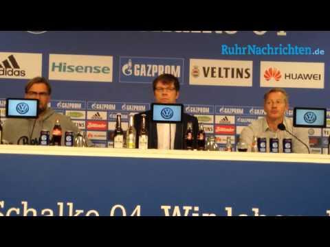 Pressekonferenz mit Jürgen Klopp und Jens Keller