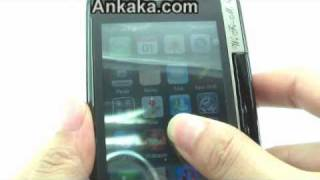 How To Use Gunslinger China Cell Phone with iPhone Menu + QWERTY Keyboard + Swivel Touchscreen