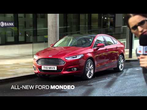 All-New Ford Mondeo – Beautifully Distracting