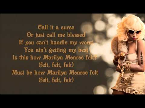 Nicki Minaj - Marilyn Monroe Lyrics Video