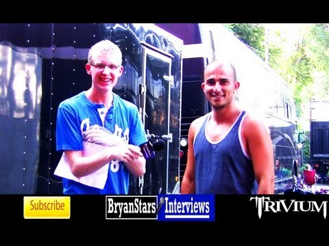 Trivium Interview #2 Paolo Gregoletto 2011 Music Videos