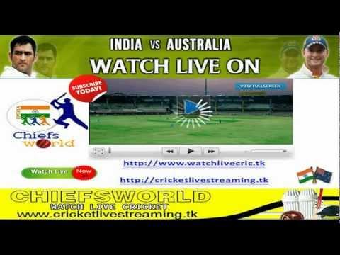LIVE INDIA VS AUSTRALIA TEST MATCH