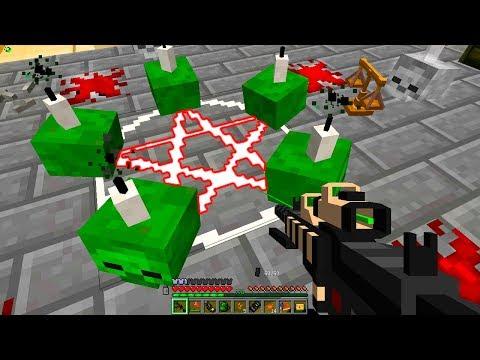 Ритуал! День 53. Зомби Апокалипсис в Майнкрафт
