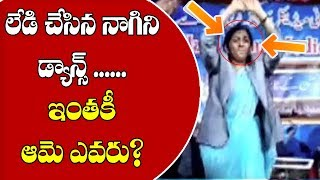 MIM Lady Corporator Dance Performance Hulchal In Social Media