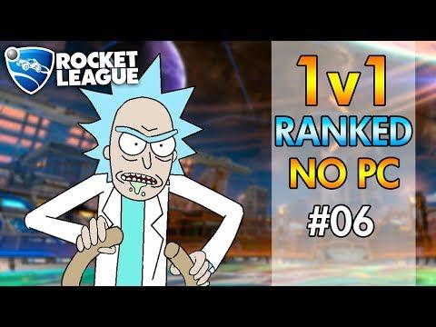 DEU RUIM!!! - 1v1 RANKED NO PC | Rocket League