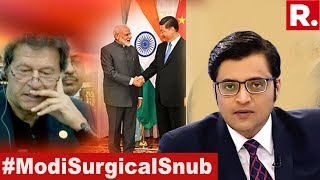 #ModiSurgicalSnub For Imran Khan At The SCO Summit 2019 | The Debate With Arnab Goswami